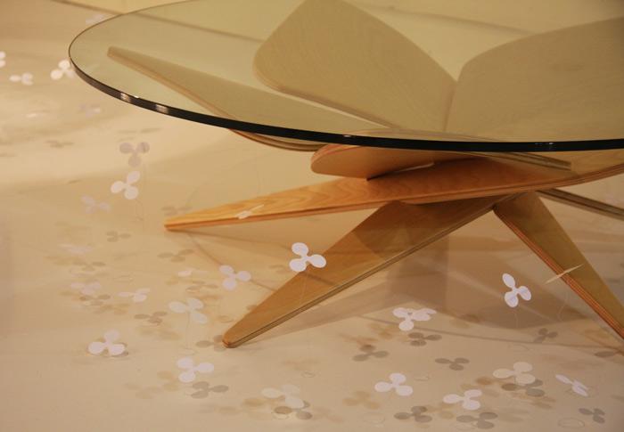 Shige Hasegawa's table