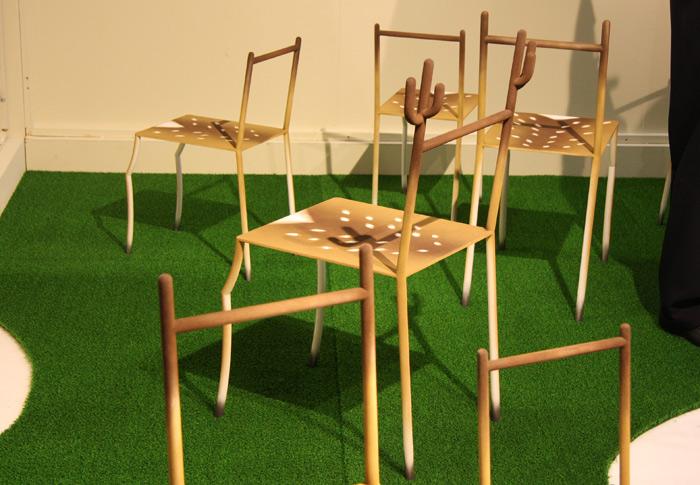 'bambi' chair by tatsuo yamamoto