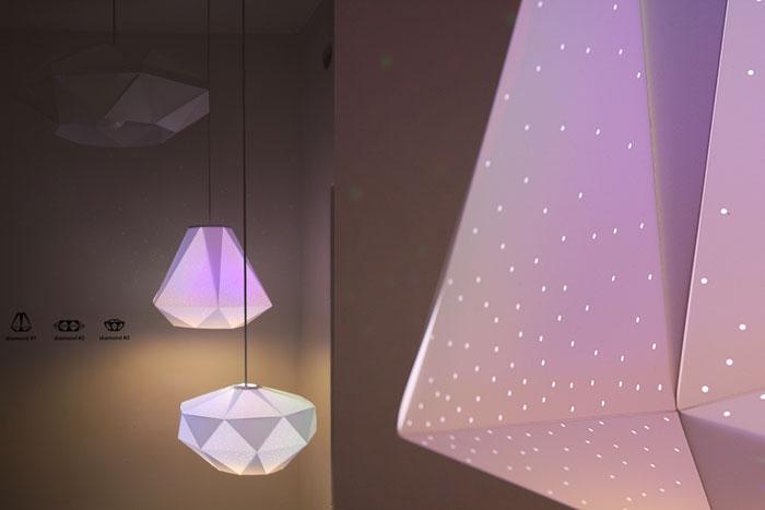 Diamonds by Dennis Parren, CMYK bulb