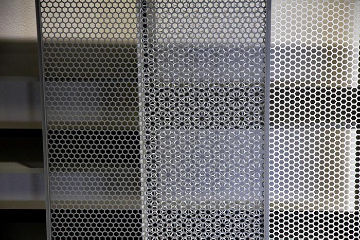 snowflake cabinet by junpei tamaki design